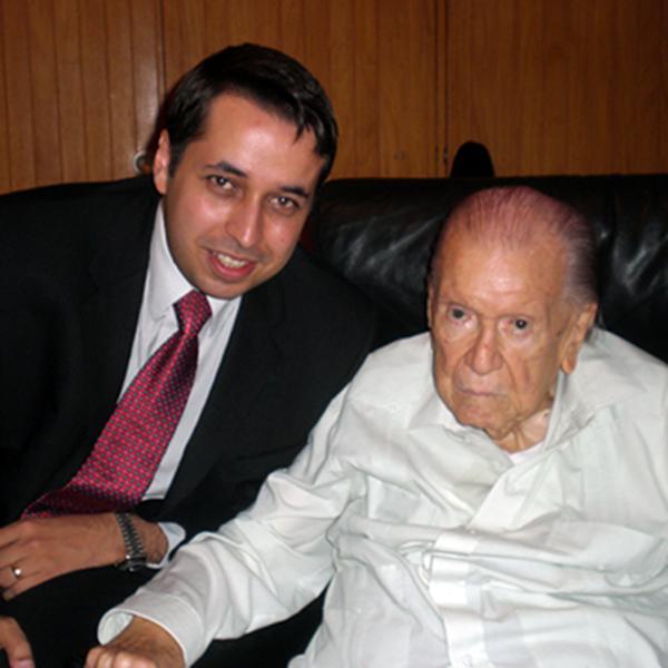 Con el Dr. Caldera